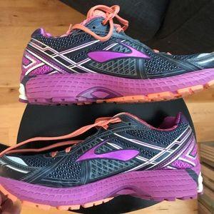 Colorful Brooks GTS running shoe